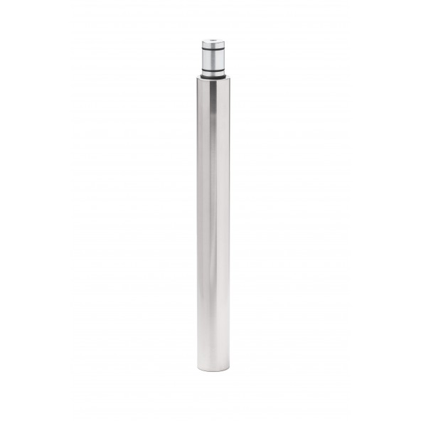 LUPIT POLE - EXTENSION CLASSIC / DIAMOND 400mm Stainless steel 45mm