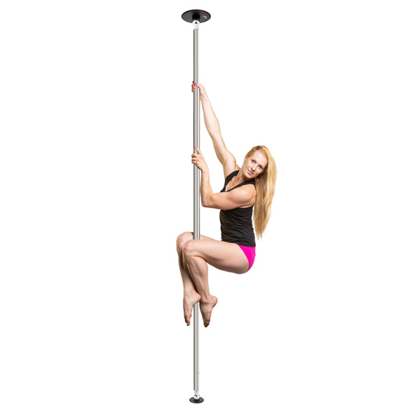 LUPIT POLE -  CLASSIC chrome 45mm portable dance pole