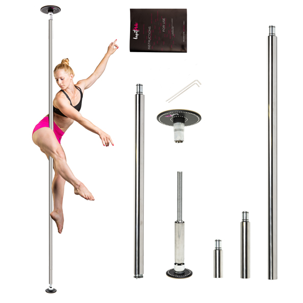 LUPIT POLE -  DIAMOND G2 chrome 42mm or 45mm removable pole