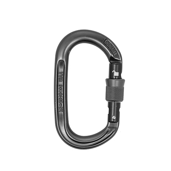 AERIAL ACCESSORIES, CARABINER/SNAP HOOK WITH AUTO SAFETY LOCK (25kN)