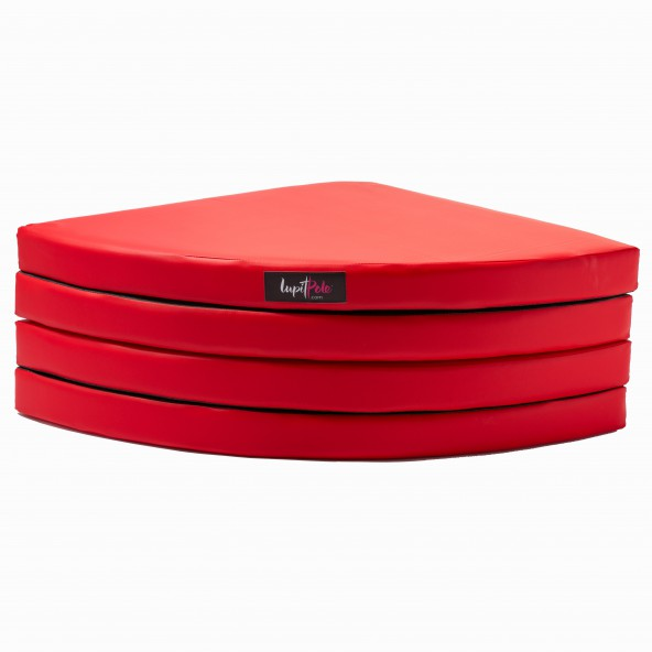 LUPIT POLE -  CRASH MAT STANDARD RED 8cm