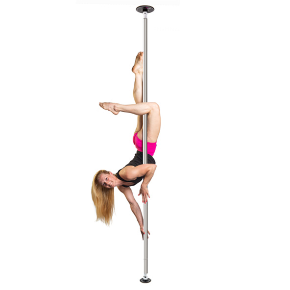 LUPIT POLE -  DIAMOND chrome 45mm removable pole