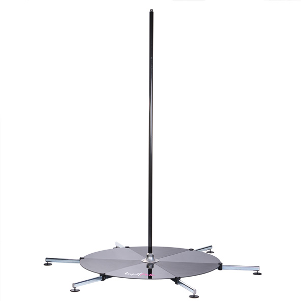 LUPIT POLE -  STAGE powder coated LONG LEGS